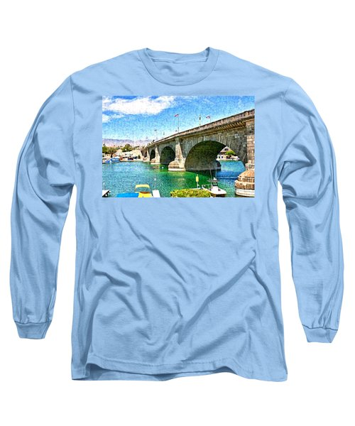 London Bridge In Arizona Long Sleeve T-Shirt