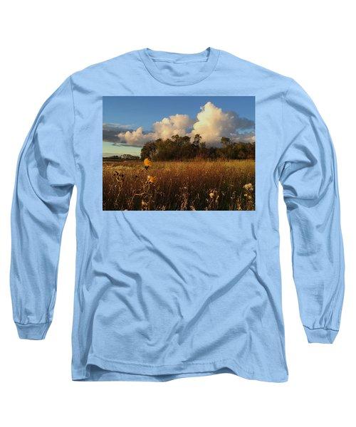 Lone Flower Long Sleeve T-Shirt