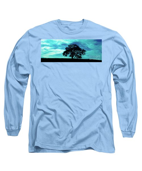 Long Sleeve T-Shirt featuring the photograph Lone Oak by Jim and Emily Bush