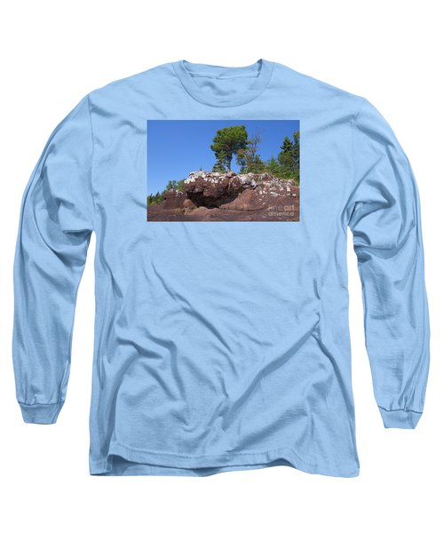 Long Sleeve T-Shirt featuring the photograph Lone Pine Sentinel  by Sandra Updyke