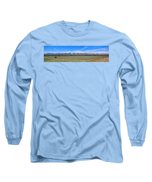 Lone Tree And The Tetons Long Sleeve T-Shirt