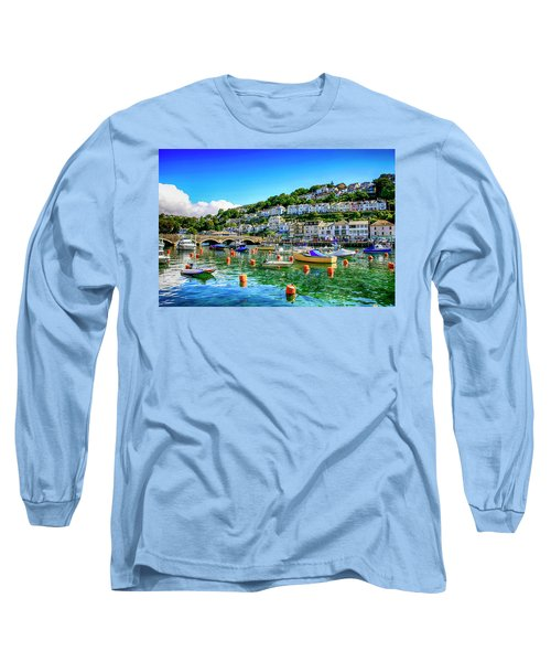 Looe In Cornwall Uk Long Sleeve T-Shirt