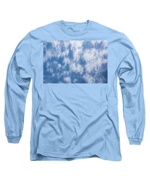 Look Up Not Down Clouds Long Sleeve T-Shirt by Terry DeLuco