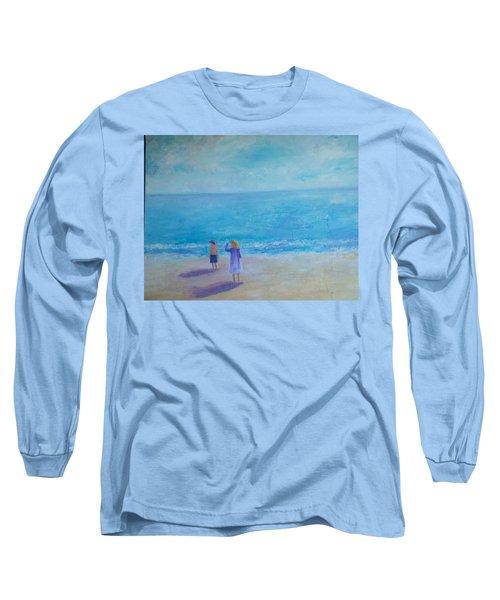 Looking Out To Sea Long Sleeve T-Shirt