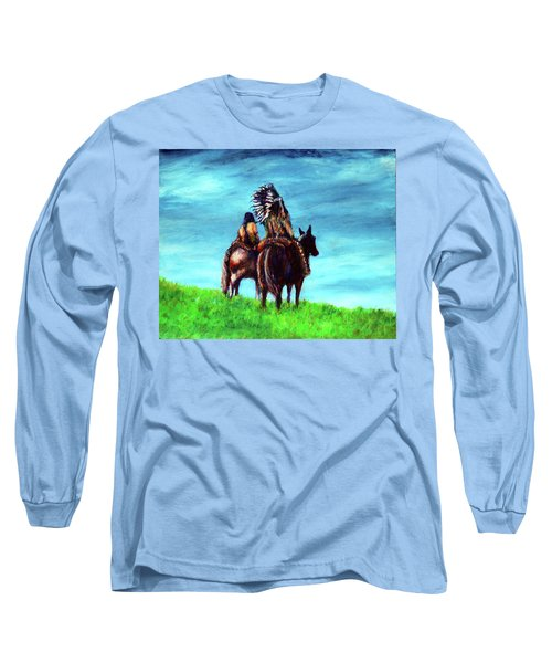 Looking Over Our Domain Long Sleeve T-Shirt