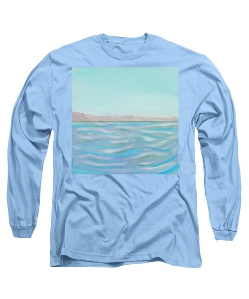 Looking South Tryptic Part 1 Long Sleeve T-Shirt