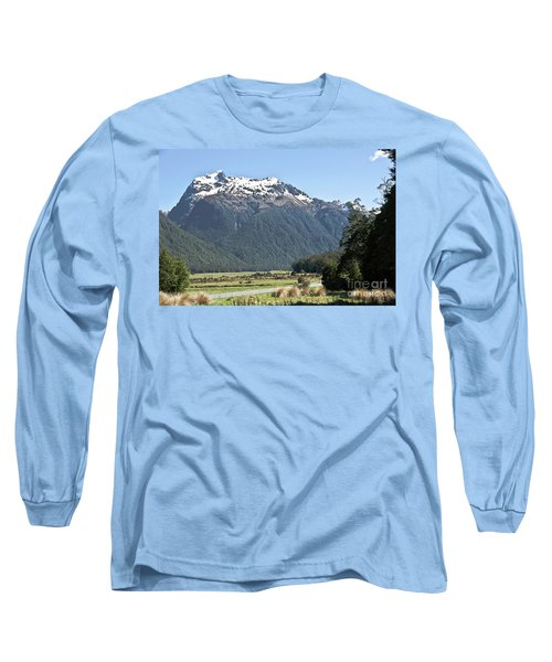 Lord Of The Rings Locations, New Zealand Long Sleeve T-Shirt