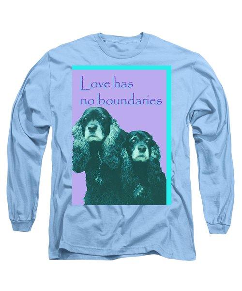 Love Had No Boundaries Long Sleeve T-Shirt