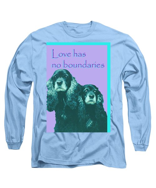 Love Had No Boundaries Long Sleeve T-Shirt