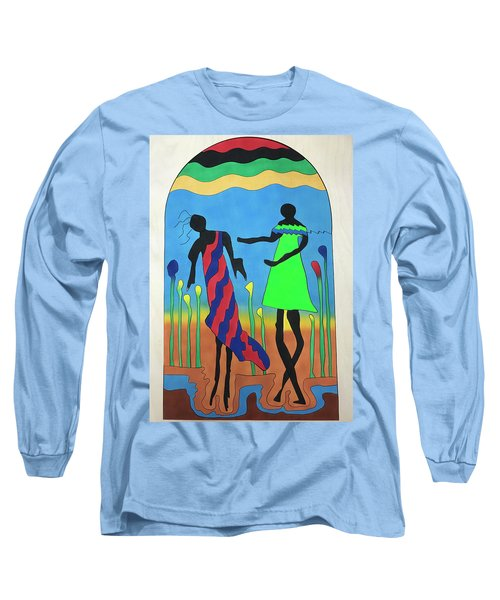 Love In The Reeds Long Sleeve T-Shirt