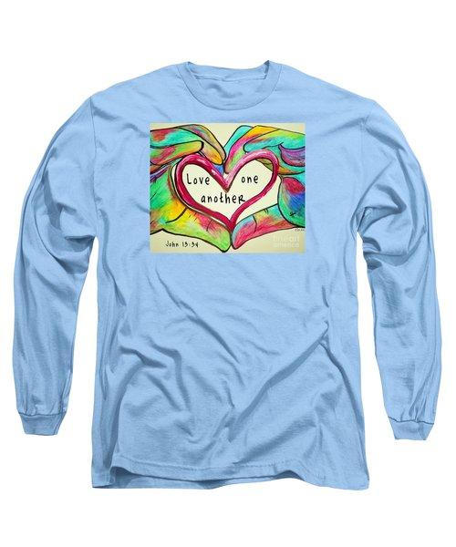 Love One Another John 13 34 Long Sleeve T-Shirt