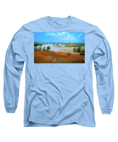 Lower Basin Long Sleeve T-Shirt by Mark Dunton