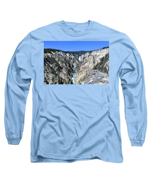 Lower Falls From Artist Point Long Sleeve T-Shirt
