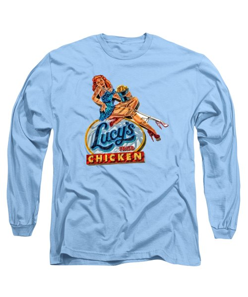 Lucys Fried Chicken Tee Long Sleeve T-Shirt