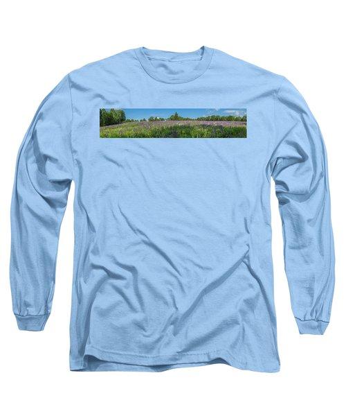 Lupine Field Long Sleeve T-Shirt