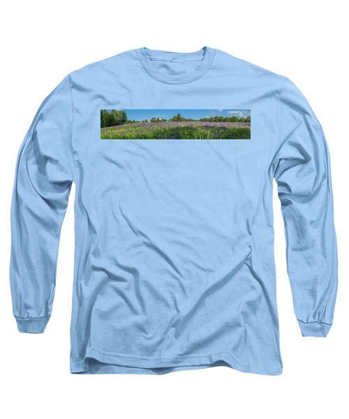 Lupine Field Long Sleeve T-Shirt