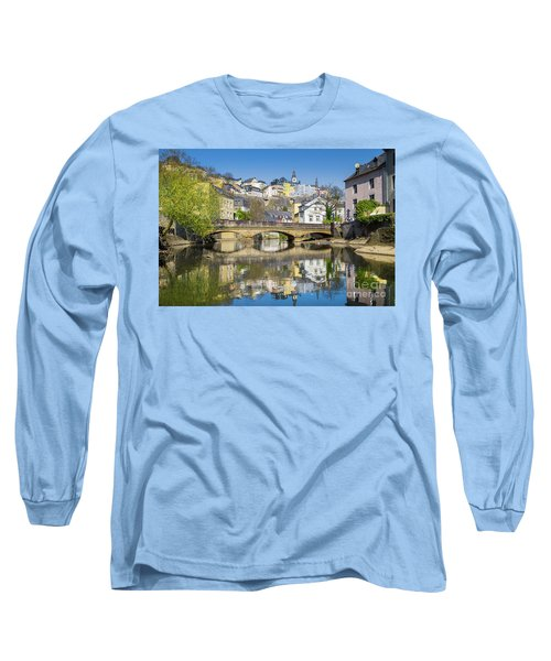 Luxembourg City Long Sleeve T-Shirt by JR Photography