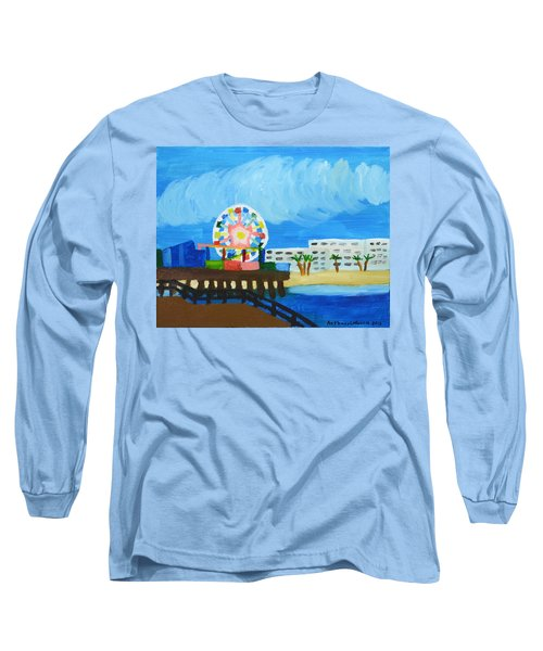 Lyndas Ferris Wheel Long Sleeve T-Shirt