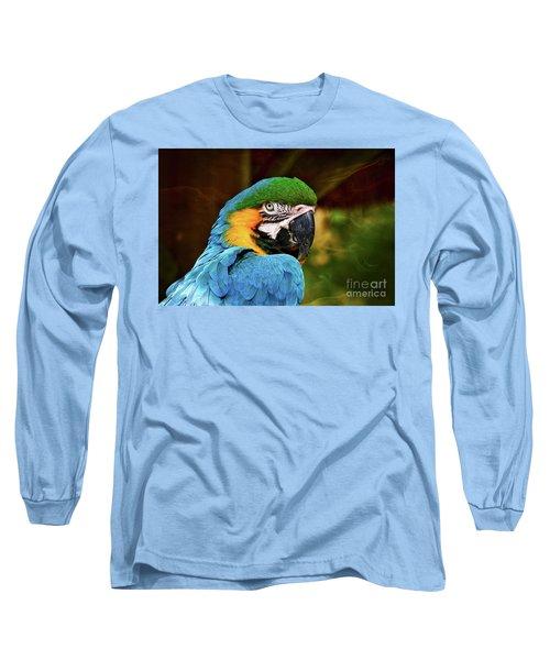 Macaw Portrait Long Sleeve T-Shirt