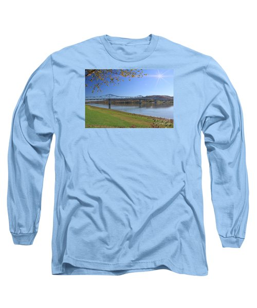 Madison, Indiana Bridge  Long Sleeve T-Shirt