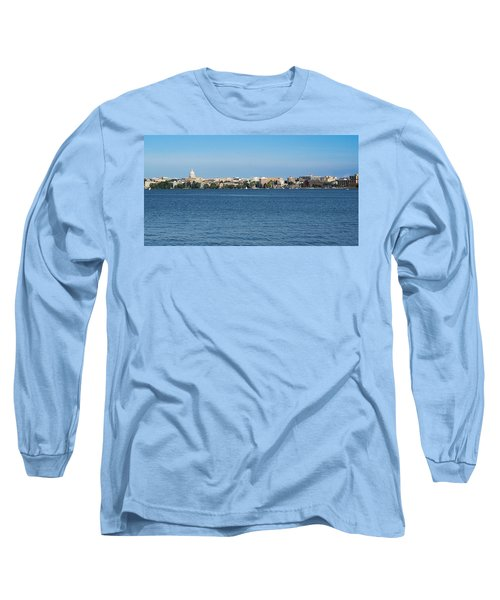 Madison Skyline From Picnic Point Long Sleeve T-Shirt