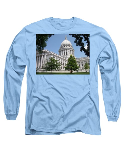 Madison Wi State Capitol Long Sleeve T-Shirt
