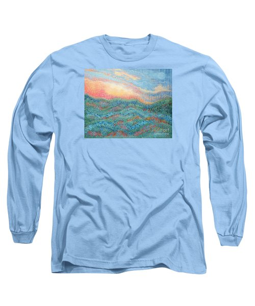 Magnificent Sunset Long Sleeve T-Shirt by Holly Carmichael