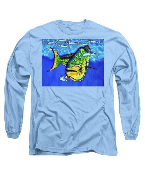 Mahi Mahi And Ballyhoo Long Sleeve T-Shirt