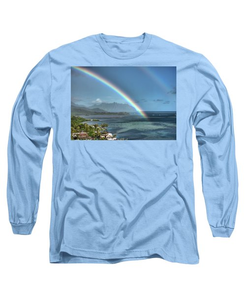 Make Mine A Double Long Sleeve T-Shirt by Dan McManus