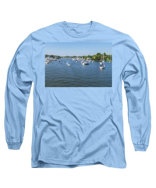 Long Sleeve T-Shirt featuring the photograph Making Way by Charles Kraus