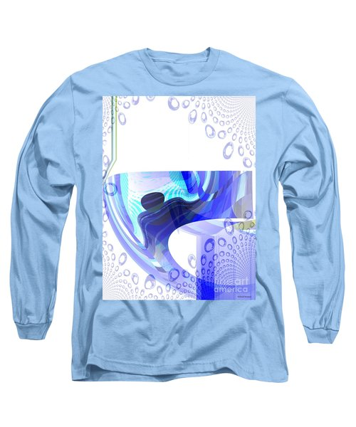 Man In The Air Long Sleeve T-Shirt by Thibault Toussaint