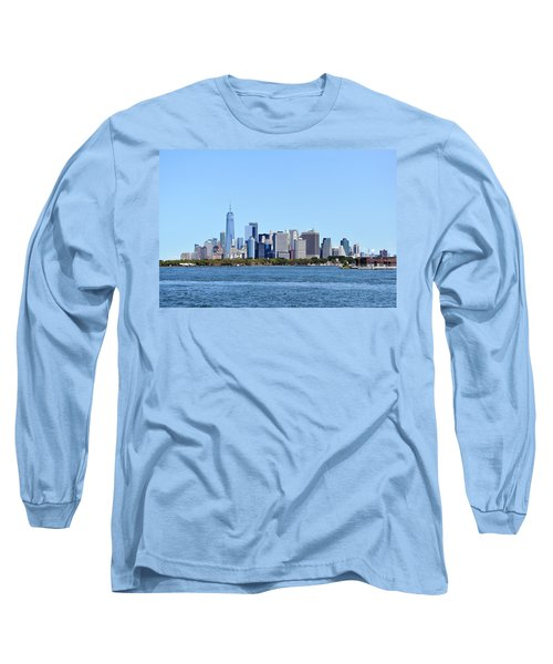 Manhattan Skyline 1 Long Sleeve T-Shirt