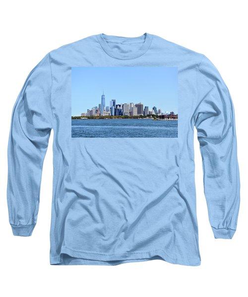 Manhattan Skyline 1 Long Sleeve T-Shirt
