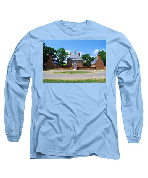 Mansion Long Sleeve T-Shirt by Eric Liller