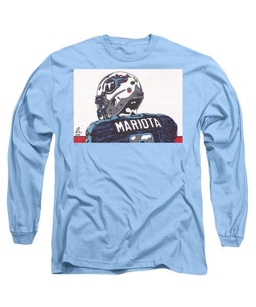 Marcus Mariota Titans 2 Long Sleeve T-Shirt