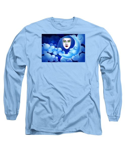 Mardi Gras At Night Long Sleeve T-Shirt