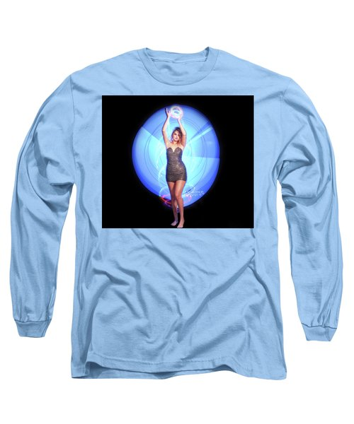 Maria Bringing Magic To The Night. Long Sleeve T-Shirt