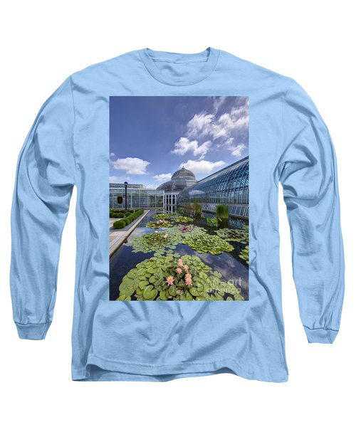 Marjorie Mcneely Conservatory At Como Park And Zoo Long Sleeve T-Shirt