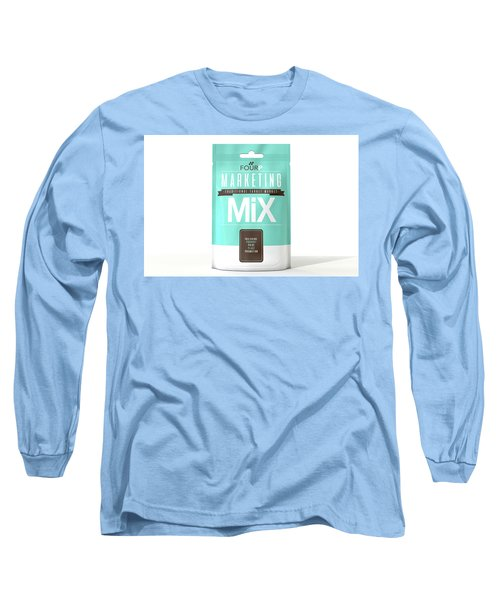 Marketing Mix 4 P's Long Sleeve T-Shirt
