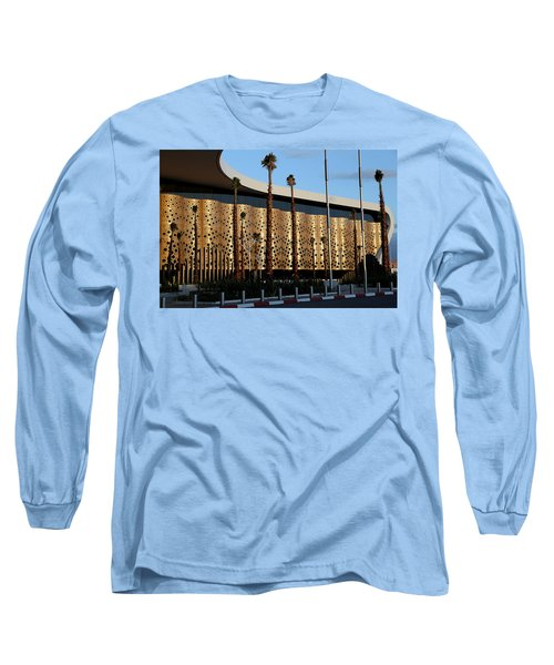 Long Sleeve T-Shirt featuring the photograph Marrakech Airport 1 by Andrew Fare