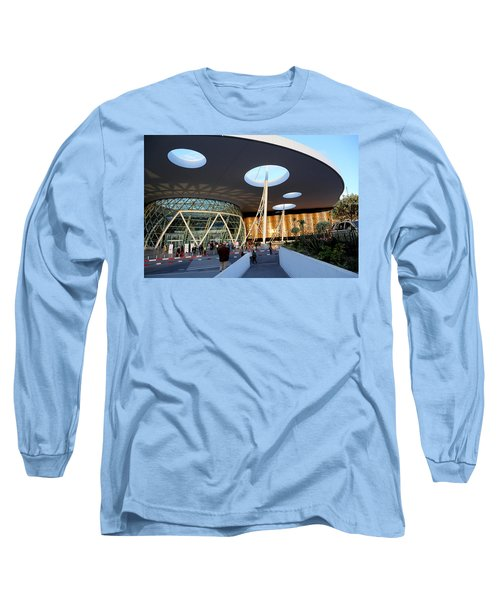 Long Sleeve T-Shirt featuring the photograph Marrakech Airport 2 by Andrew Fare