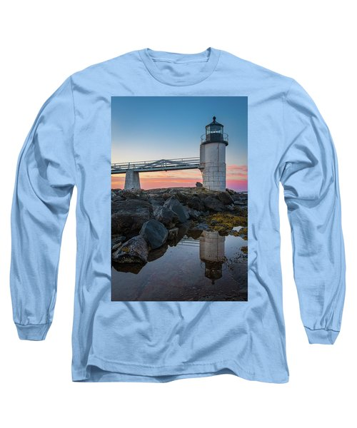 Marshall Point Reflection At Sunrise Long Sleeve T-Shirt