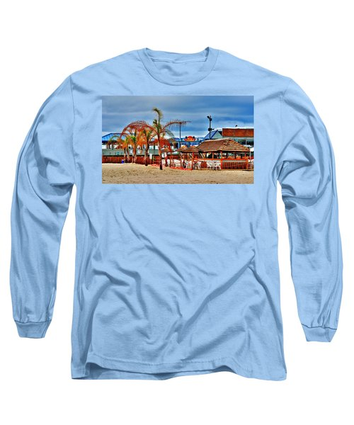 Martells On The Beach - Jersey Shore Long Sleeve T-Shirt