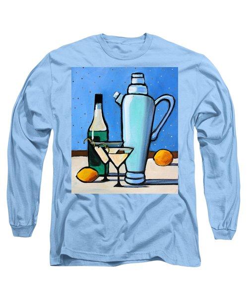 Martini Night Long Sleeve T-Shirt