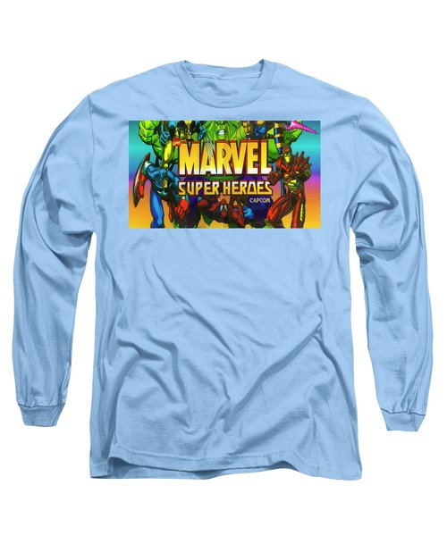 Marvel Super Heroes Long Sleeve T-Shirt