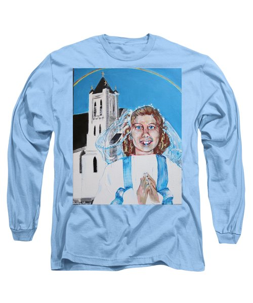 Mary's First Communion Long Sleeve T-Shirt