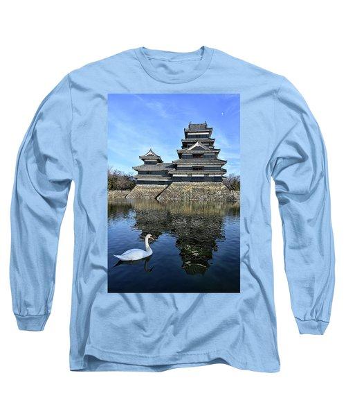 Matsumoto Swan Long Sleeve T-Shirt
