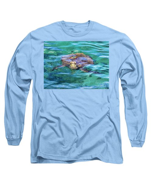 Maui Sea Turtle Long Sleeve T-Shirt