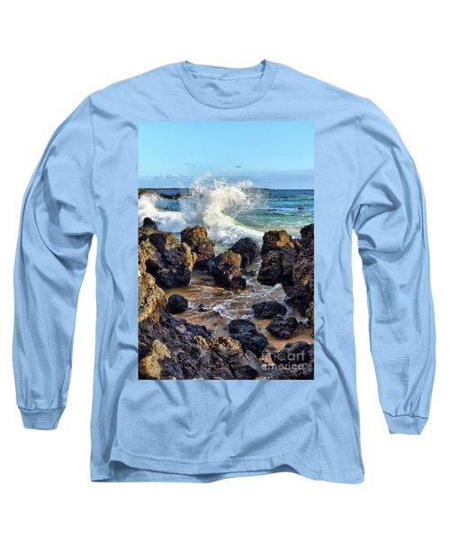 Maui Wave Crash Long Sleeve T-Shirt