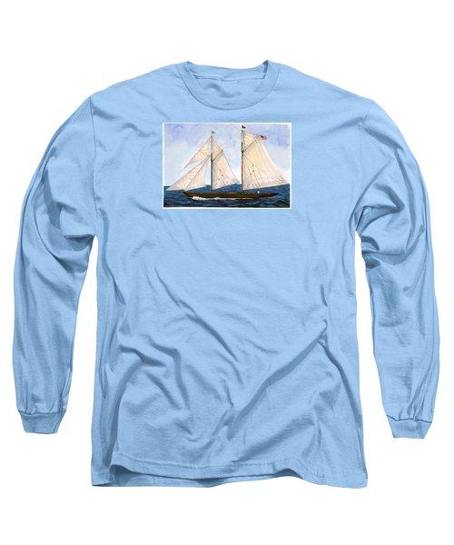 Mavis 1901 Long Sleeve T-Shirt by Cindy Hitchcock